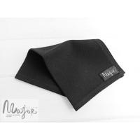 Черный платок Паше твидовый