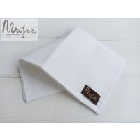 Белый нагрудный платок Паше