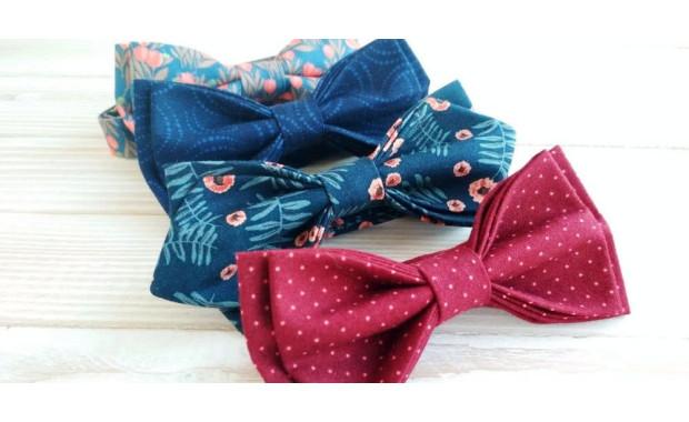 Модные галстуки-бабочки